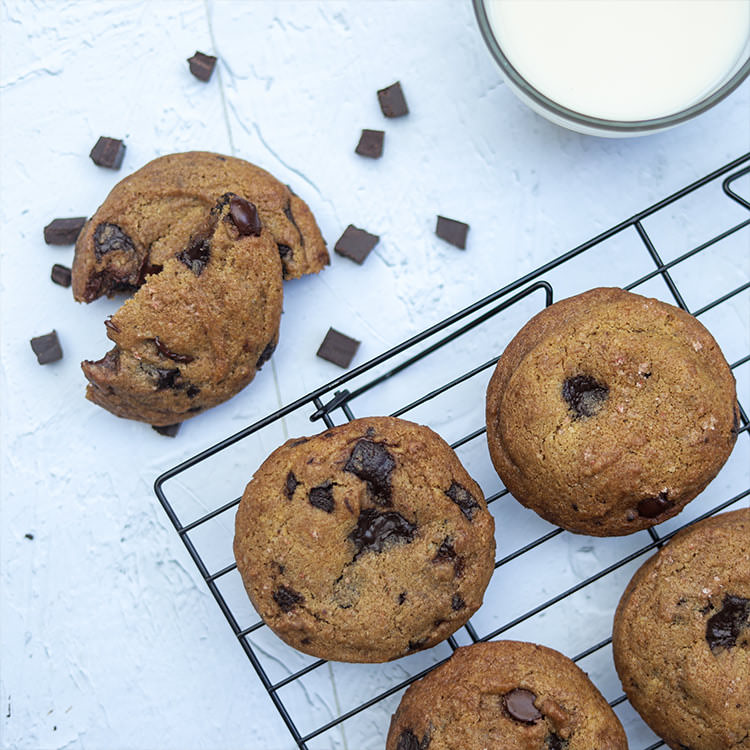 Chocolate Chip Cookies (2 pcs)
